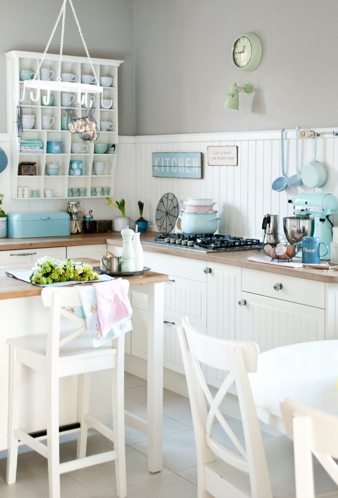 cucina color pastello