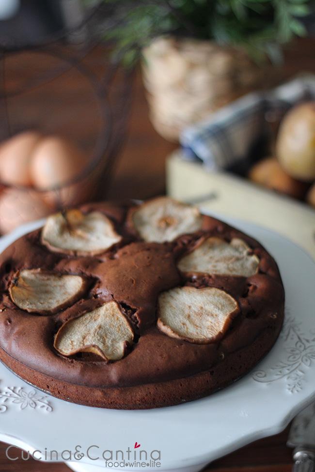 ricetta_torta_cioccolato_pere