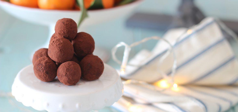 Ben noto Regali di natale fatti in casa: i tartufi dolci al cioccolato  YW76